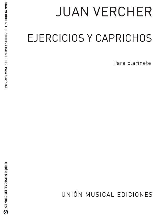 Ejercicios y Caprichos - Juan Vercher - Partition - laflutedepan.com