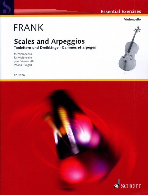 Gammes et Arpèges - Maurits Frank - Partition - laflutedepan.com
