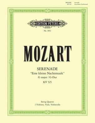 Eine kleine Nachtmusik -Streichquartett - Stimmen MOZART laflutedepan