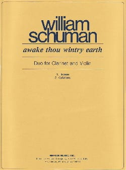 Awake thou wintry earth - William Schuman - laflutedepan.com