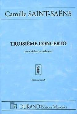 Concerto Violon n° 3 op. 61 - Conducteur SAINT-SAËNS laflutedepan