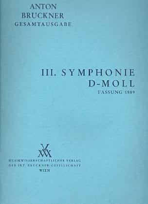 Symphonie Nr. 3 d-moll 1889 -Vol 3 BRUCKNER Partition laflutedepan