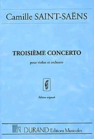 Concerto Violon n° 3 op. 61 - Conducteur - laflutedepan.com