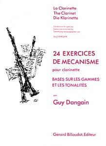 24 Exercices de mécanisme Guy Dangain Partition laflutedepan