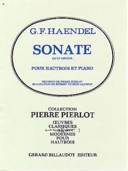 Sonate en Ut Mineur pour Hautbois HAENDEL Partition laflutedepan