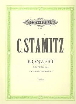 Concerto B-Dur für 2 Klarinetten - Partitur STAMITZ laflutedepan
