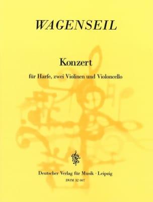 Concerto Harpe-2 Violons et Violoncelle laflutedepan