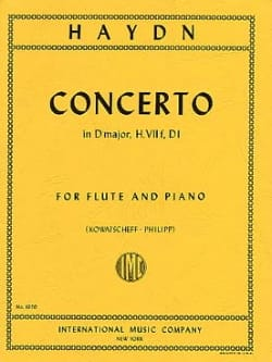 Concerto in D major Hob. 7 f, D1 - Flute piano - laflutedepan.com