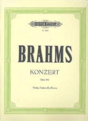 Doppelkonzert op. 102 -Violine Cello Klavier - laflutedepan.com