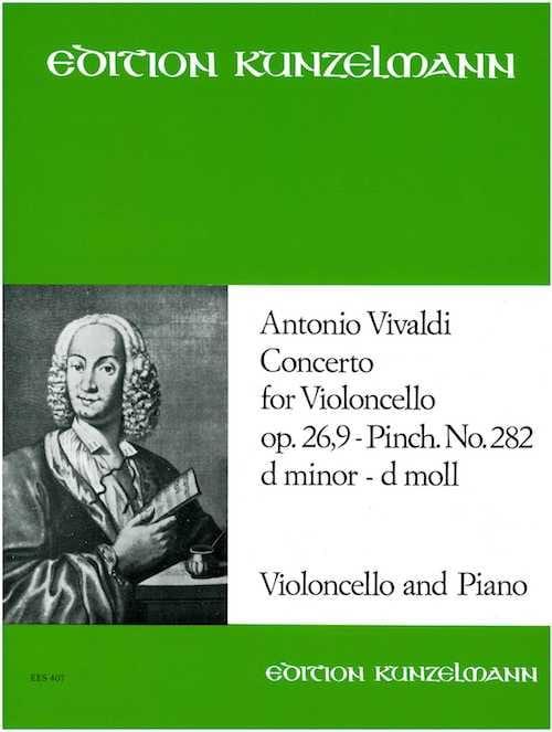 Concerto Violoncelle, op. 26 n° 9, P. 282, ré mineur - laflutedepan.com