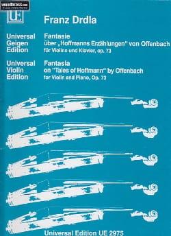 Fantasie über Hoffmanns Erzählungen von Offenbach, op. 73 laflutedepan