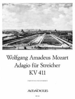 Adagio für Streicher KV 411 -Partitur + Stimmen MOZART laflutedepan