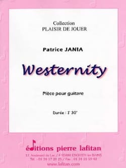 Westernity Patrice Jania Partition Guitare - laflutedepan