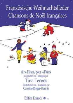 Chansons de Noël Françaises - 4 Flûtes Partition laflutedepan