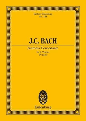 Sinfonia Concertante Es-Dur - Johann Christian Bach - laflutedepan.com