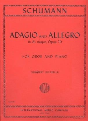 Adagio and Allegro op. 70 -Oboe piano - SCHUMANN - laflutedepan.com
