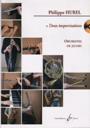 2 Improvisations - Conducteur - Philippe Hurel - laflutedepan.com