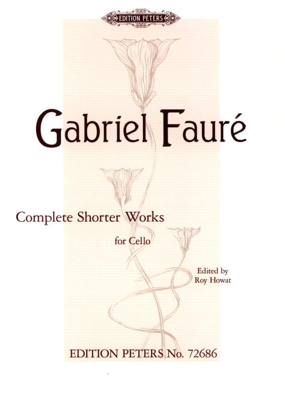 Complete Shorter Works - Violoncelle et piano - laflutedepan.com