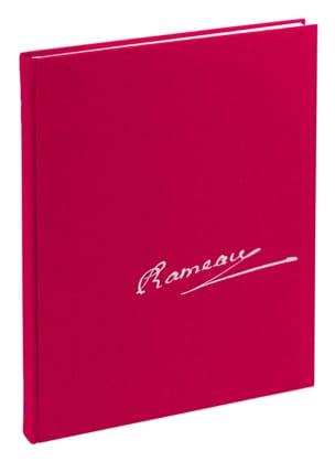 Zoroastre - Conducteur RAMEAU Partition Grand format - laflutedepan