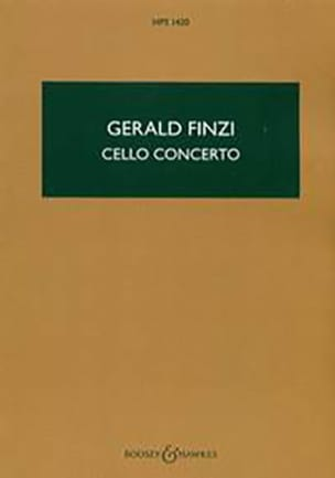 Cello Concerto Gerald Finzi Partition Petit format - laflutedepan
