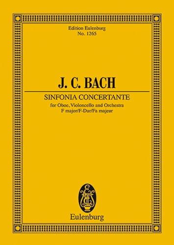 Sinfonia Concertante F-Dur - Johann Christian Bach - laflutedepan.com