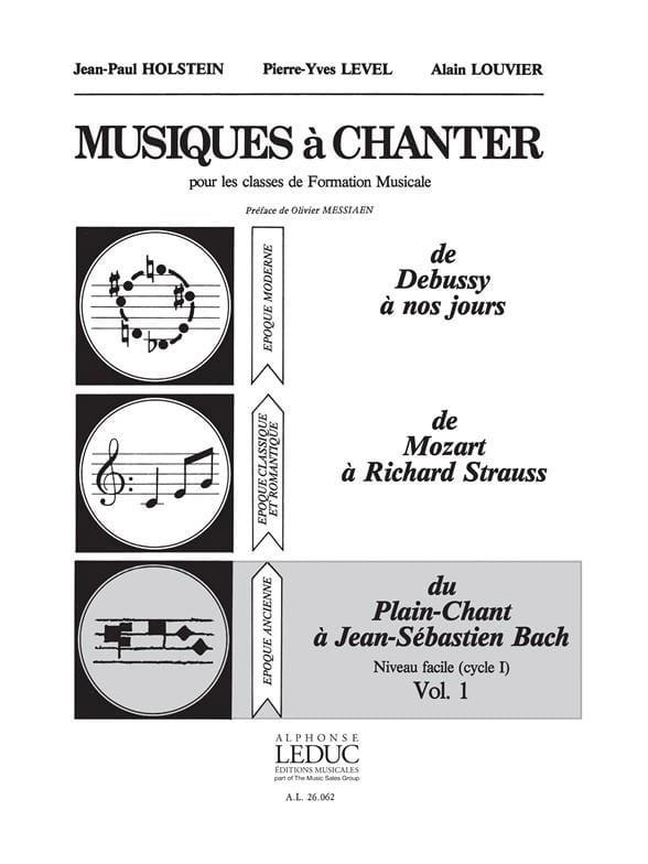 Musiques à chanter - Volume 1 - laflutedepan.com