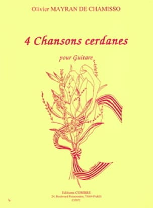 4 Chansons cerdanes - de Chamisso Olivier Mayran - laflutedepan.com