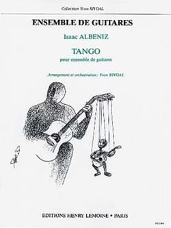 Tango - 5 Guitares ALBENIZ Partition Guitare - laflutedepan