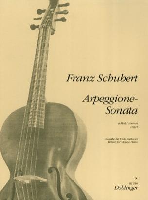 Arpeggione-Sonata a-Moll D. 821 - Viola SCHUBERT laflutedepan