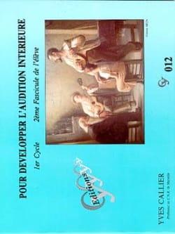 Pour développer l'audition... - Volume 2 Elève laflutedepan