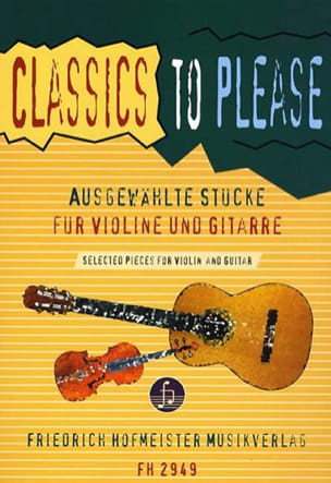 Classics to please - Violin guitar Walter Thomas Heyn laflutedepan