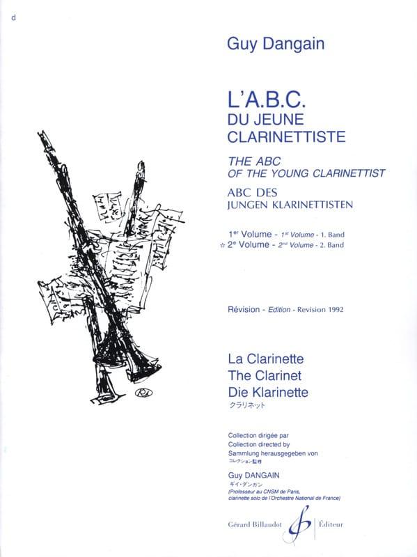 L'A.B.C. du jeune Clarinettiste - Volume 2 - laflutedepan.com