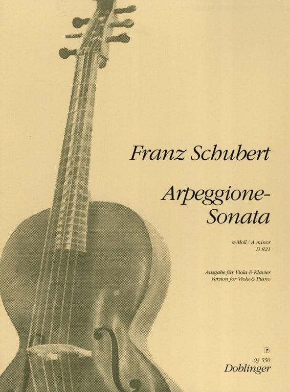 Arpeggione-Sonata a-Moll D. 821 - Viola - SCHUBERT - laflutedepan.com