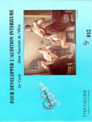 Pour développer l'audition... - Volume 2 Elève - laflutedepan.com