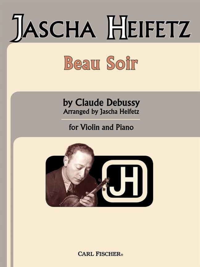 Beau soir - DEBUSSY - Partition - Violon - laflutedepan.com