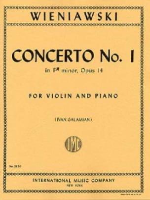 Concerto n° 1 en fa dièse mineur op. 14 - Violon - laflutedepan.com