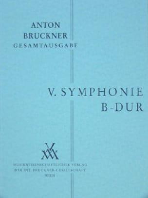 Symphonie Nr. 5 B-Dur - BRUCKNER - Partition - laflutedepan.com
