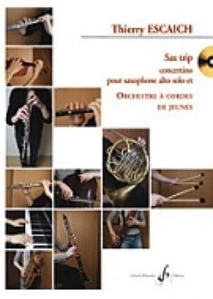 Sax Trip Concertino - Conducteur - Thierry Escaich - laflutedepan.com
