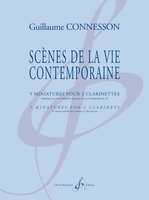 Scènes de la vie contemporaine - CONNESSON - laflutedepan.com