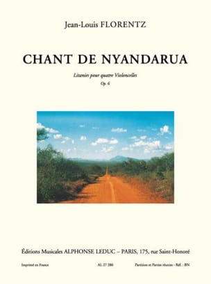 Chant de Nyandarua op. 6 Jean-Louis Florentz Partition laflutedepan