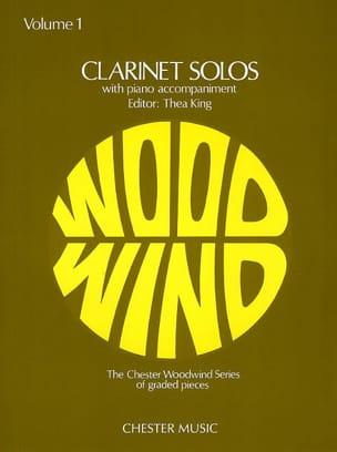 Clarinet Solos Volume 1 Partition Clarinette - laflutedepan