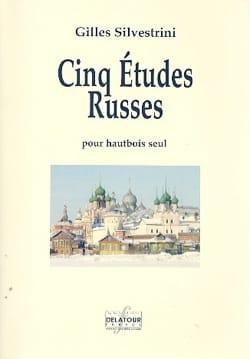 5 Etudes Russes - Hautbois Gilles Silvestrini Partition laflutedepan