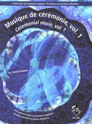 Musique de Cérémonie Volume 1 Partition 0 - laflutedepan