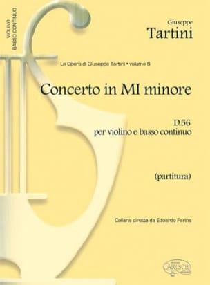 Concerto in Mi Minore D 56 per Violino e BC - laflutedepan.com