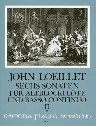 6 Sonaten op. 3 - Volume 2 - Altblockflöte u. Bc - laflutedepan.com