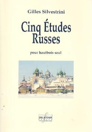 5 Etudes Russes - Hautbois - Gilles Silvestrini - laflutedepan.com