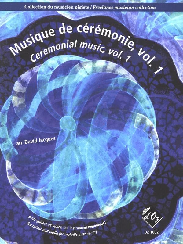 Musique de Cérémonie Volume 1 - Partition - 0 - laflutedepan.com