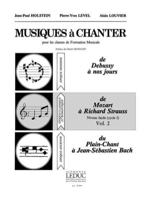 Musiques à Chanter Volume 2 - laflutedepan.com