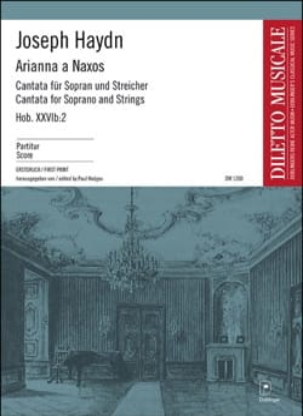 Arianna a Naxos HAYDN Partition Grand format - laflutedepan
