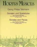Sonaten und Spielstücke TELEMANN Partition Violon - laflutedepan